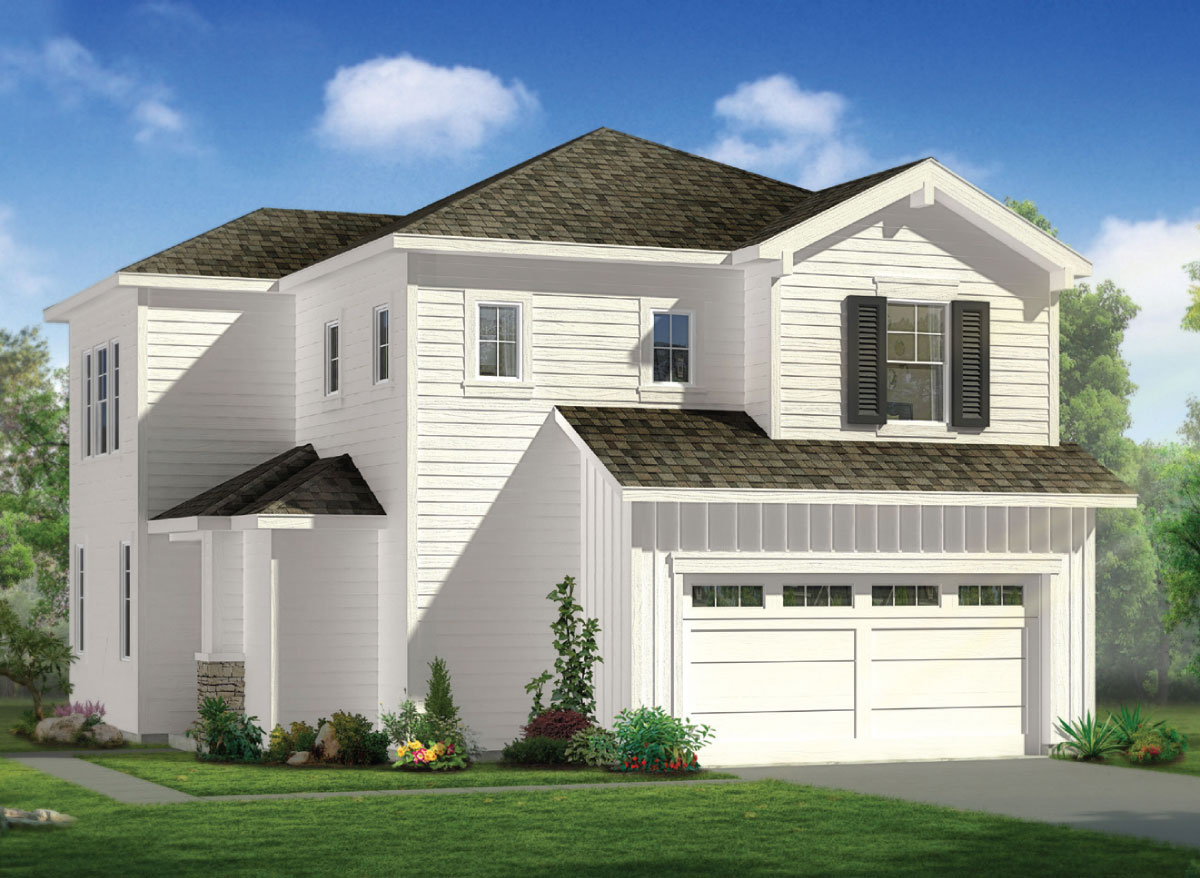 Manassero Plan A2: Manassero Homes at Tahoe Park - Brand New Homes in Sacramento