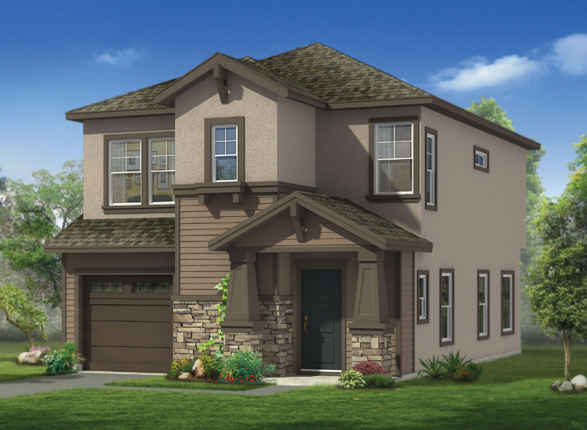 Manassero Plan D: Manassero Homes at Tahoe Park - Brand New Homes in Sacramento